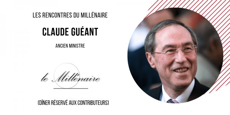 Le Millénaire rencontre Claude Guéant